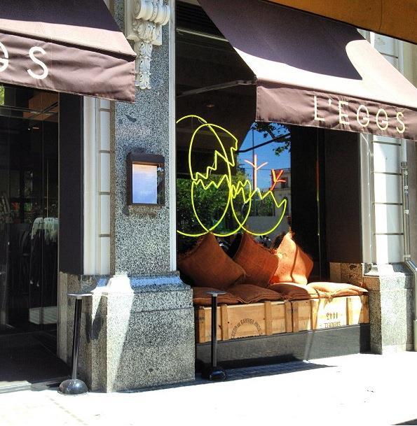 Nuevo restaurante paseo de gracia l 39 eggs - Restaurantes passeig de gracia ...