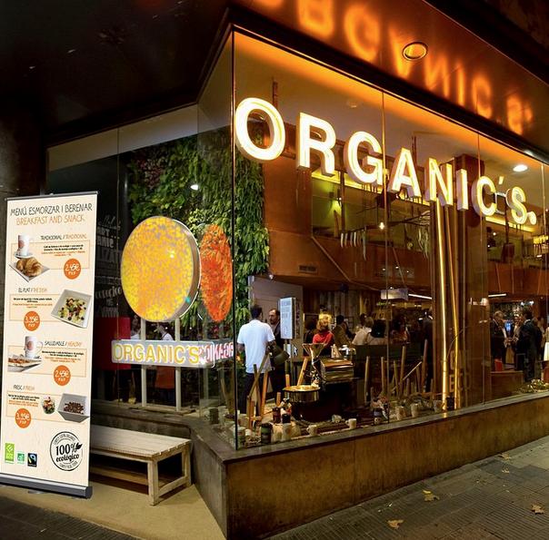 Organic\'s Barcelona, el 100% ecológico