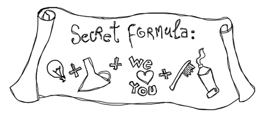All you need is Smile - formula