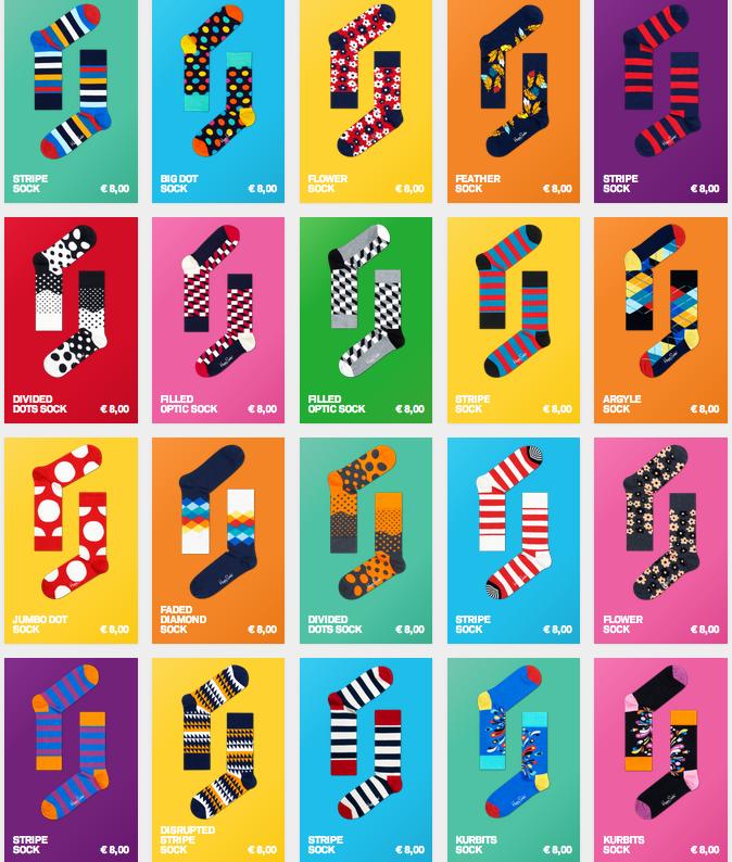 Disenos Happy Socks